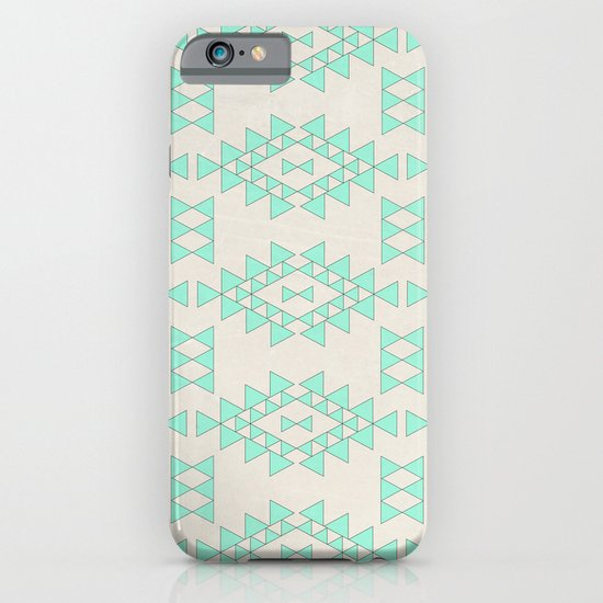 Mint Geo iPhone & iPod Case