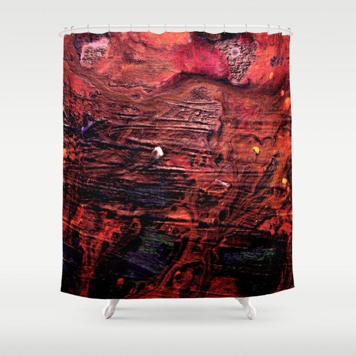 Dark  Sea Symphony Shower Curtain