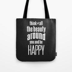 Be Happy Tote Bag