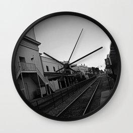 Crossing Wall Clock
