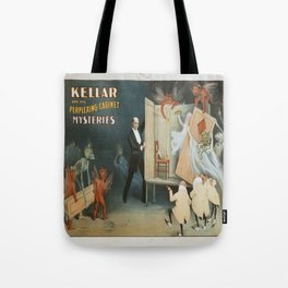 Vintage poster - Kellar the Magician Tote Bag