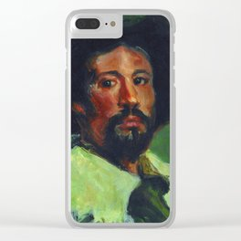 """El arte que nos mira"" Clear iPhone Case"