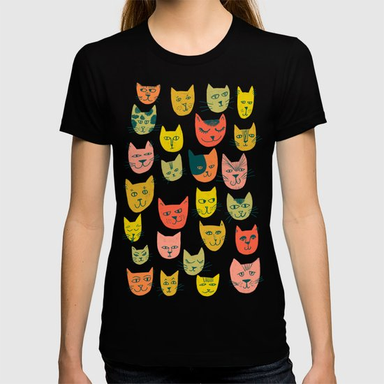 Meow! Colorful Cats Illustration by shoshannah