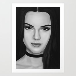 Kendall Art Print