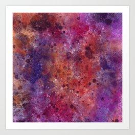 Digitally Painted texture 05 Art Print