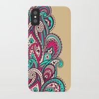 paisley iPhone & iPod Cases featuring Paisley by Cultivate Bohemia