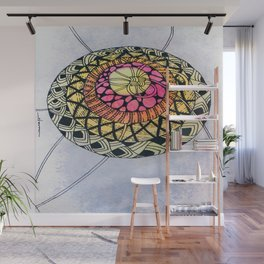 Layers with Patterns Wall Mural