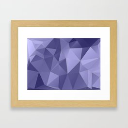 Vertices 10 Framed Art Print