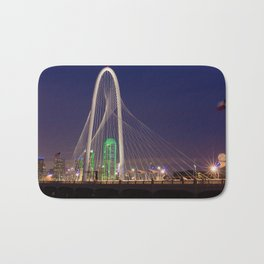 Arched Pathway to Dallas in Lights Bath Mat