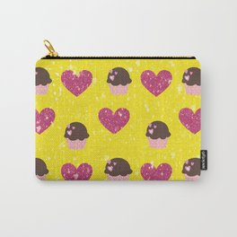 Hearts and cupcakes Carry-All Pouch