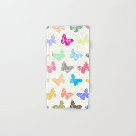 Colorful butterflies Hand & Bath Towel