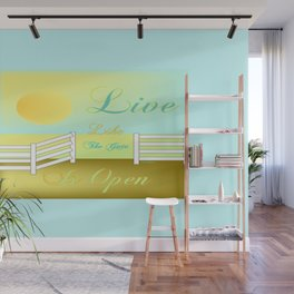 """""""Live"""" Wall Mural"""