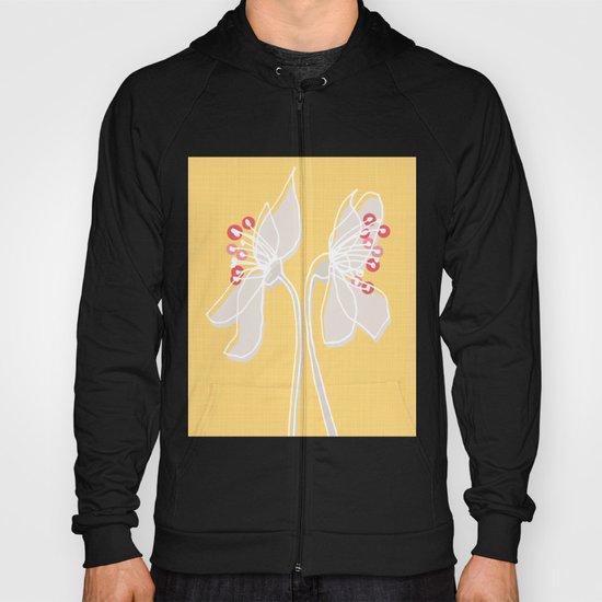 Cherry Blossom: Yellow Hoody