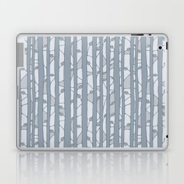 Into The Woods grey Laptop & iPad Skin