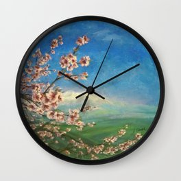 Almond Wall Clock