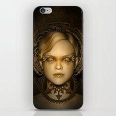 Steampunk female machine iPhone & iPod Skin
