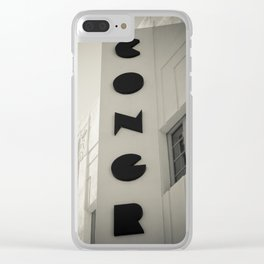 Art Deco Miami Beach #10 Clear iPhone Case