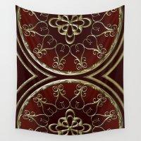 nemo Wall Tapestries featuring Golden Treasure of Nemo by Britta Glodde