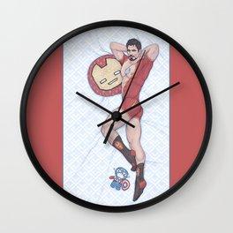 Tony Pinup Wall Clock