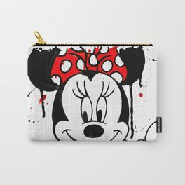 Minnie Mash Head Carry-All Pouch
