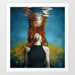 Unwind Me Art Print