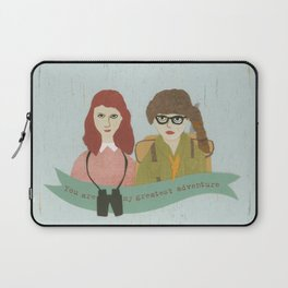 Suzy and Sam Together Laptop Sleeve