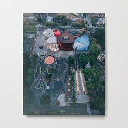 EMP / MoPop Metal Print