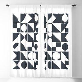 Mid Century Geometric 10 Blackout Curtain
