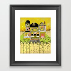 Your Home is Your Castle Framed Art Print
