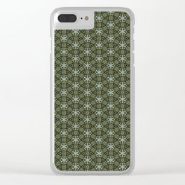 Green meadows Clear iPhone Case