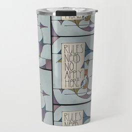 Rules Travel Mug
