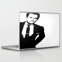 neil gaiman Laptop & iPad Skins featuring Neil Patrick Harris (NPH) by Black And White Store