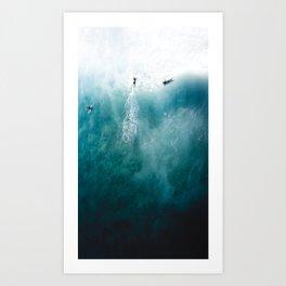 Omniscient Ocean Art Print