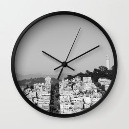 San Francisco XVII Wall Clock