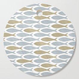 shoal of herring Cutting Board