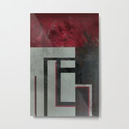 Order & ChaOs Metal Print