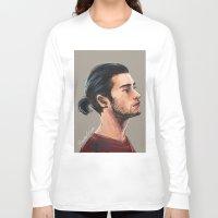 zen Long Sleeve T-shirts featuring Zen by Rosketch