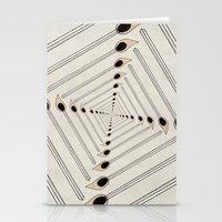 charmaine Stationery Cards featuring Playing with Matches by eye in the sky