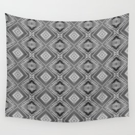 Shades of grey and black pattern A128A Wall Tapestry