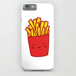 Kawaii French Fries iPhone Case