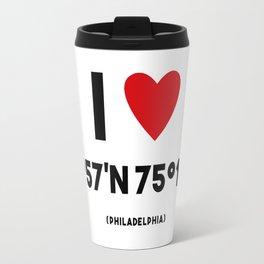 I LOVE PHILADELPHIA Travel Mug