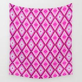Kilim pink Moroccan print //Moroccan rug Wall Tapestry