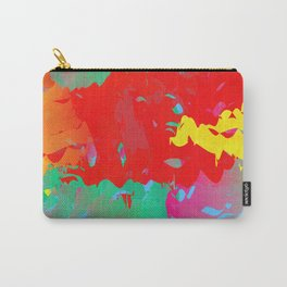 Abstract Paint Gradient Carry-All Pouch