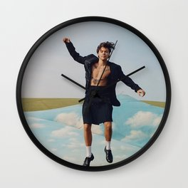 Looking Fly Style Wall Clock