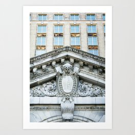 All aboard Detroit Art Print