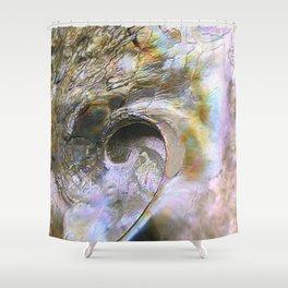 Abalone Portrait Shower Curtain