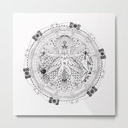 Alchemical Man Metal Print