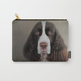 Waiting Patiently - English Springer Spaniel Carry-All Pouch