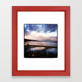 New Years Day Framed Art Print