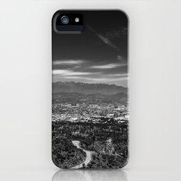 Los Angeles landscape iPhone Case